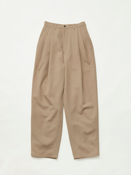 CASUAL SUIT PANTS WOOL SAND1