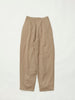 CASUAL SUIT PANTS WOOL SAND2