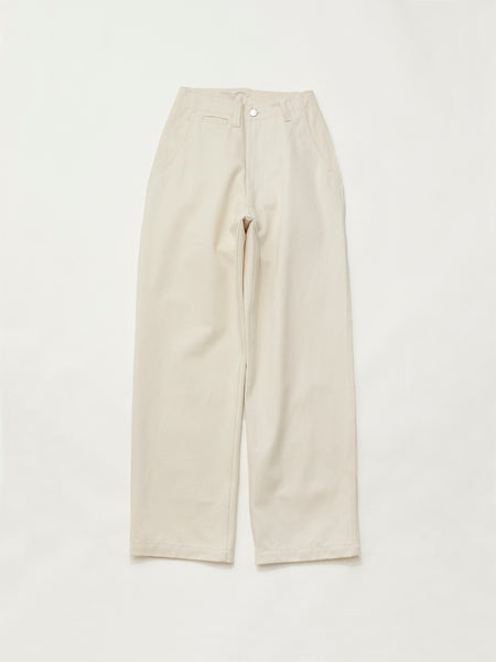 CORE FIELD TROUSERS IVORY1