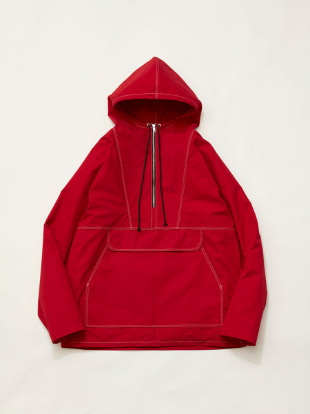 ANORAK WATERPROOF COTTON RED1
