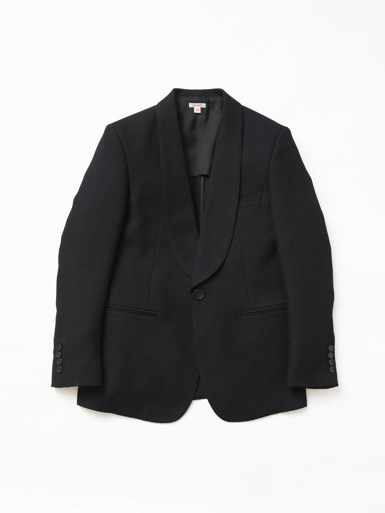 MASU SMOKING JACKET BLACK 1