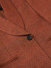 MASU SMOKING JACKET RED BROWN 5