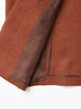MASU SMOKING JACKET RED BROWN 7