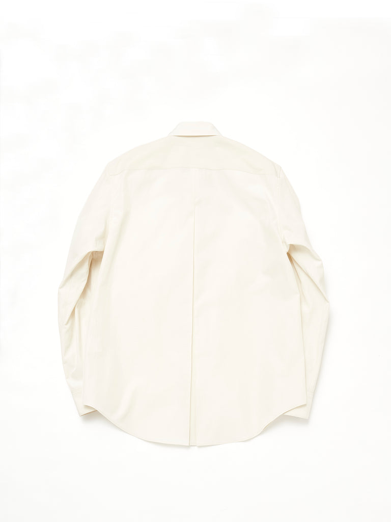 IRENISA CENTER PLEATS CLASSIC SHIRT 2
