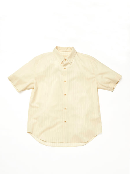 IRENISA ITALIAN COLLAR SHORT-SLEEVED SHIRT 1