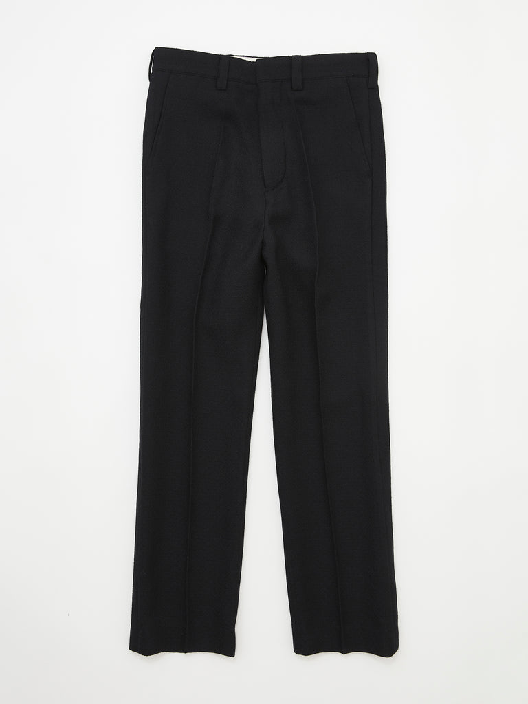 FLARE TROUSERS BLK_1