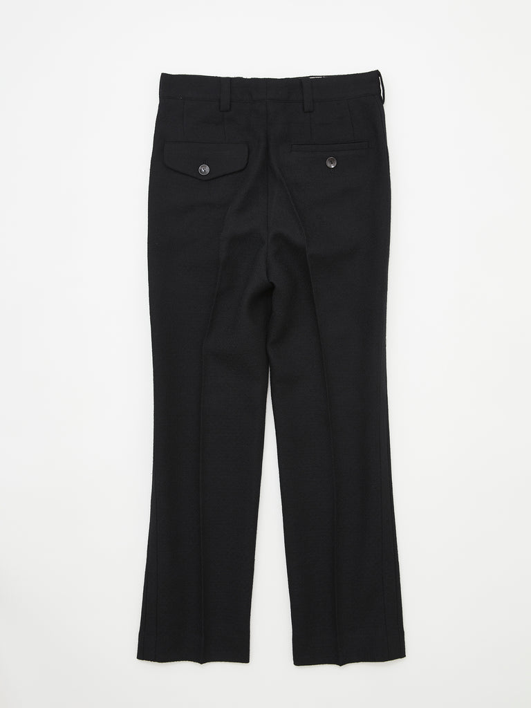FLARE TROUSERS BLK_2