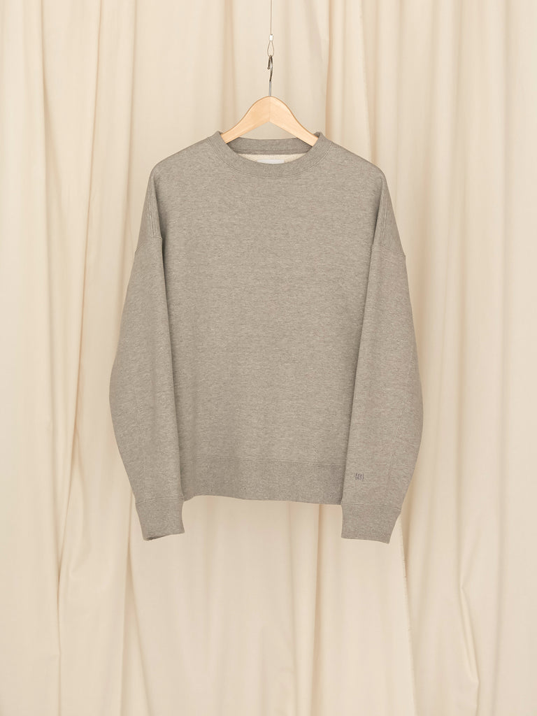 +81 OVERSIZED SWEAT SHIRT GRY 1