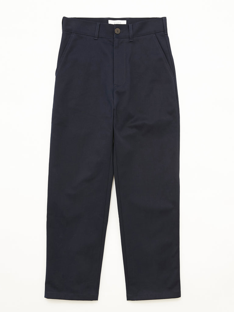 PEACHED COTTON TWILL FLAT FRONT TAPERED PANT DNV 1