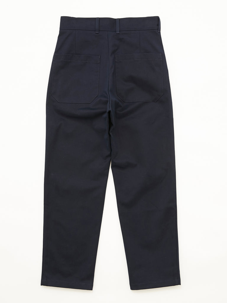 PEACHED COTTON TWILL FLAT FRONT TAPERED PANT DNV 2