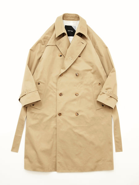 ATON WEST POINT OVERSIZED TRENCH COAT 1
