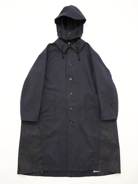 DOUBLE COLOR RAIN COAT NVY_9
