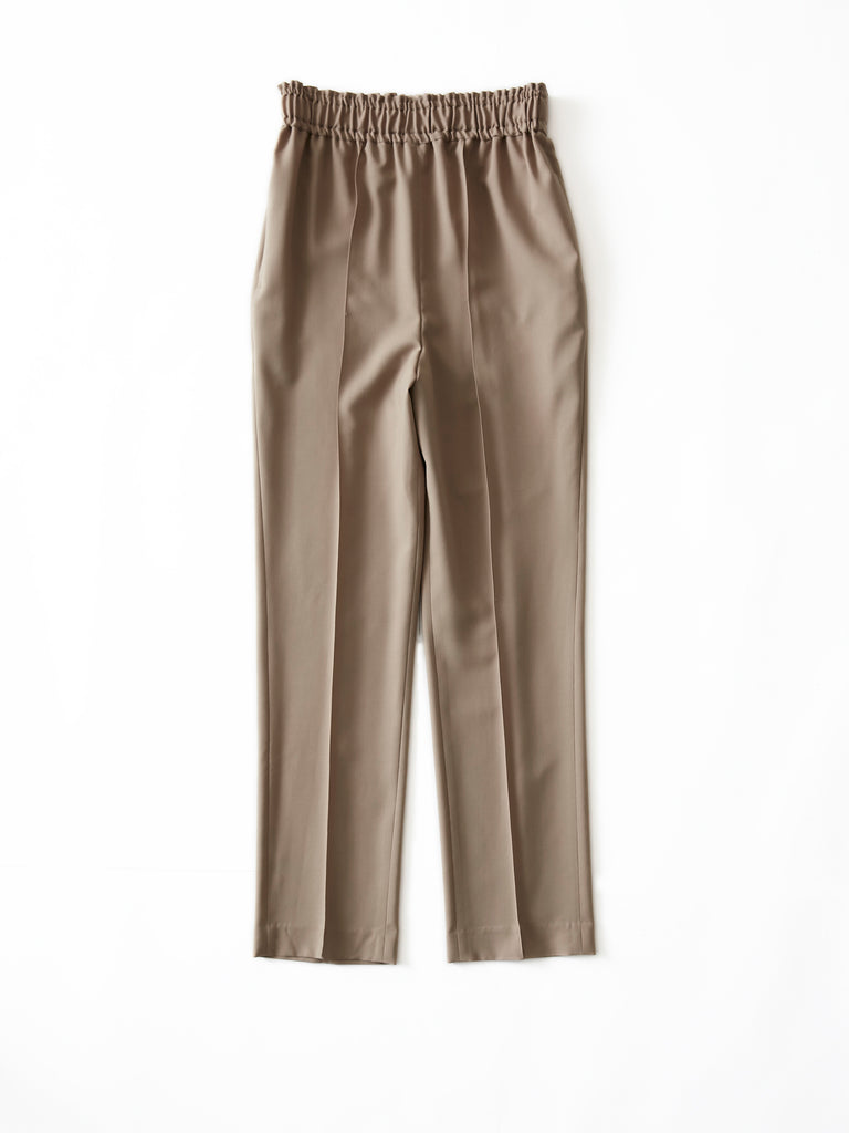 POSTELEGANT WOOL EASY TROUSERS CRB 1