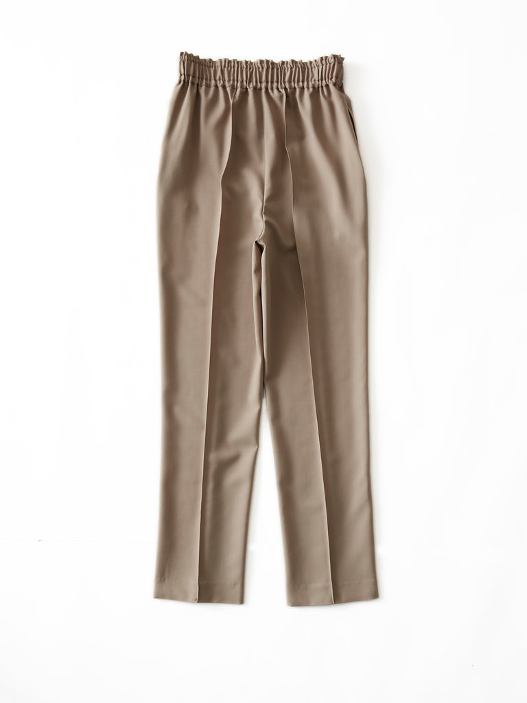 POSTELEGANT WOOL EASY TROUSERS CRB 2