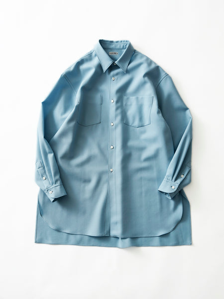 RAKINES LONG SHIRT BLU 1