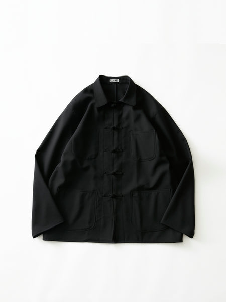 RAKINES FRENCH CHINA BLOUSON BLK 1