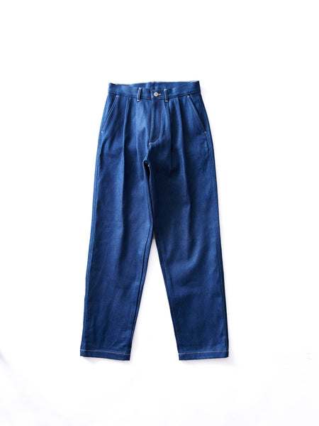 E.TAUTZ CORE PLEATED JEANS 1