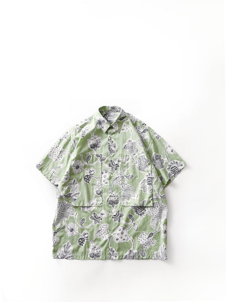 E.TAUTZ SHORT SLEEVE LINEMAN SHIRT APPLE GREEN 1