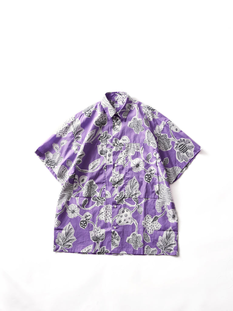 E.TAUTZ SHORT SLEEVE LINEMAN SHIRT LILAC 1