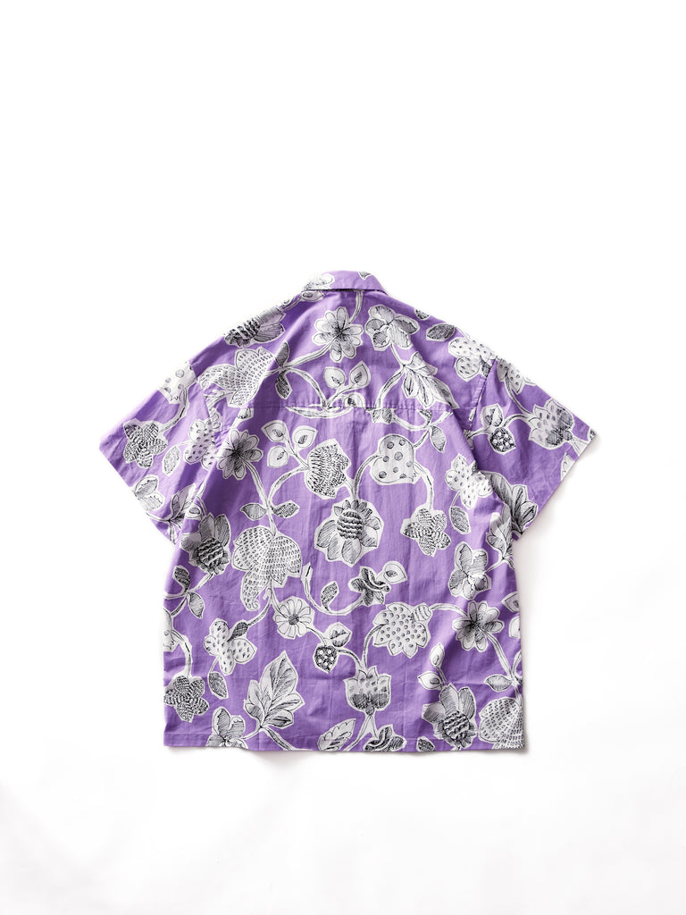 E.TAUTZ SHORT SLEEVE LINEMAN SHIRT LILAC 2