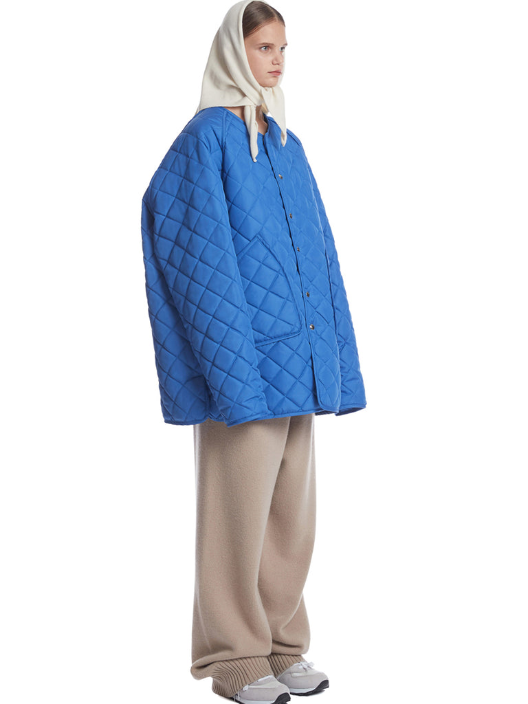 TRUNKPROJECT QUILTED JACKET BLUE3