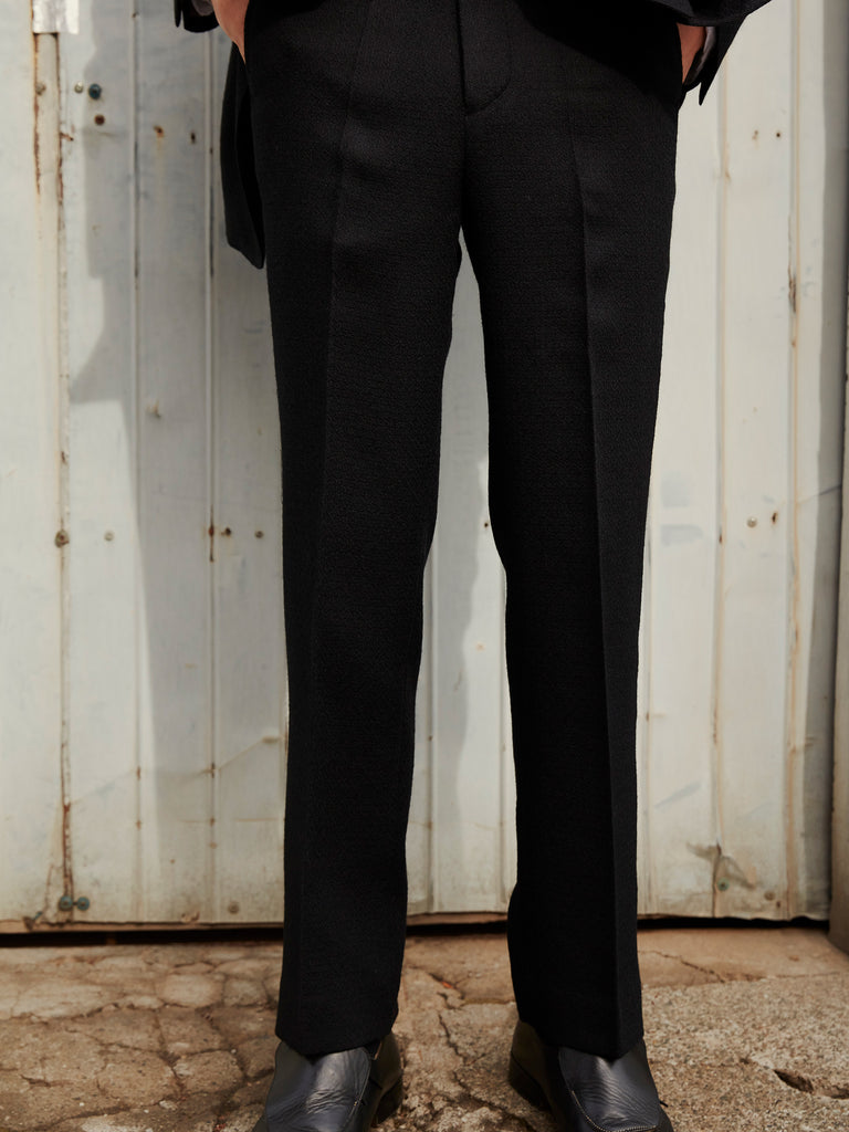 FLARE TROUSERS BLK_8