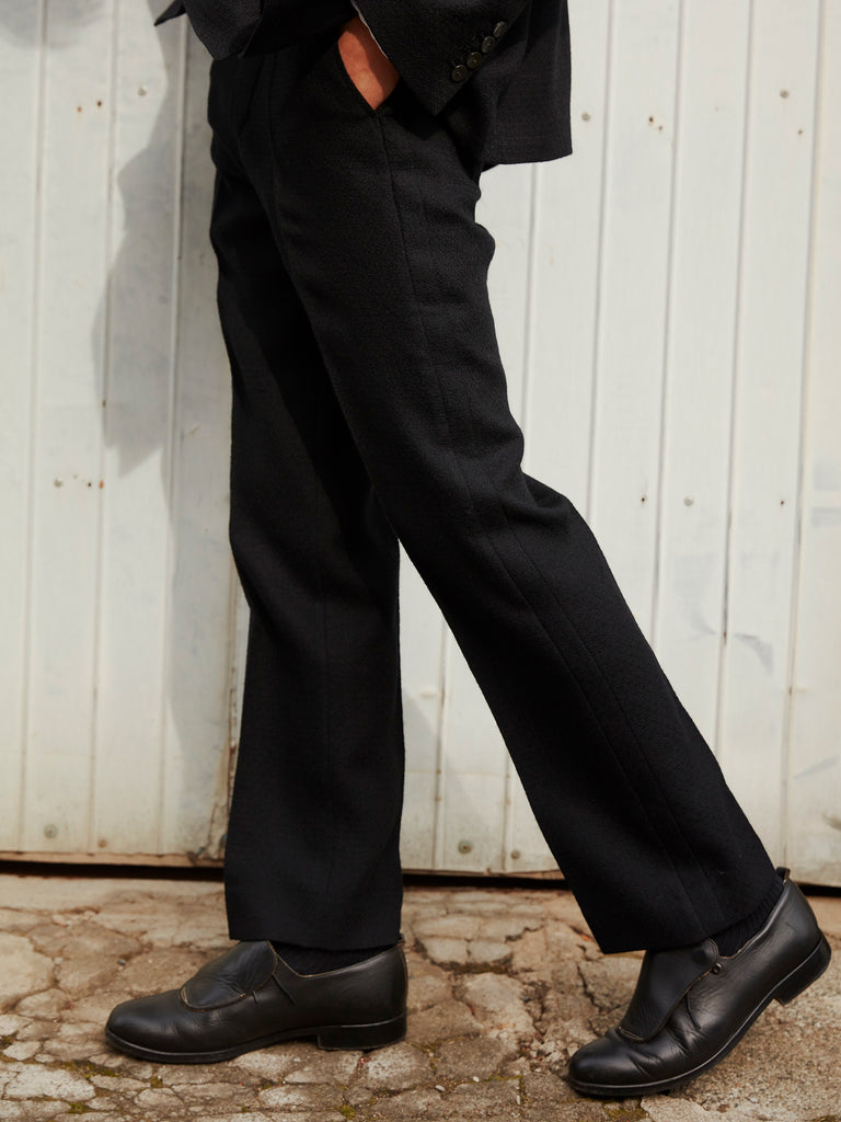 FLARE TROUSERS BLK_9