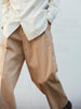 IRENISA TWO TUCKS WIDE PANTS BEIGE 11