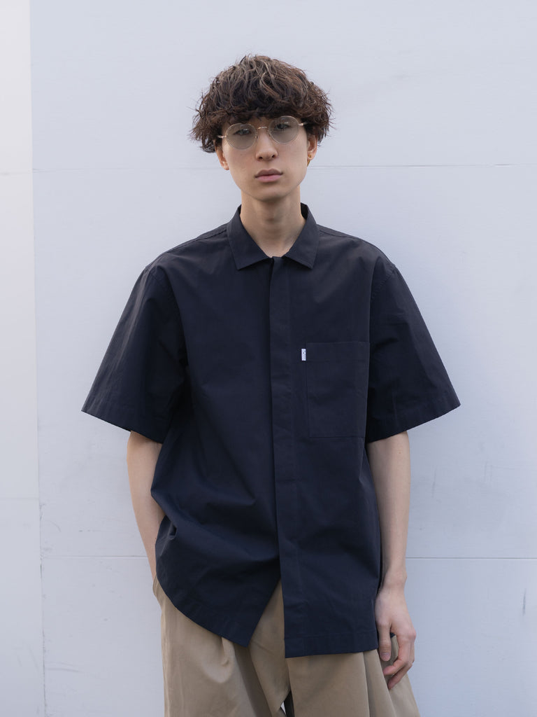 POWDER COTTON SHORT SLEEVE SHIRT DNV 9