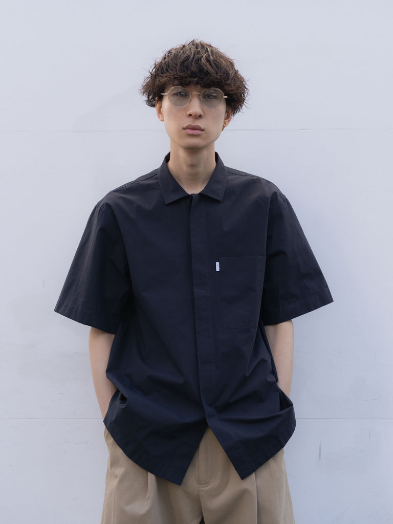 POWDER COTTON SHORT SLEEVE SHIRT DNV 8