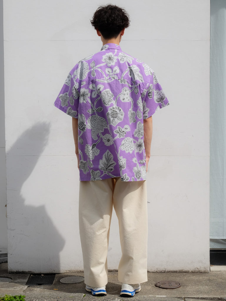 E.TAUTZ SHORT SLEEVE LINEMAN SHIRT LILAC 6