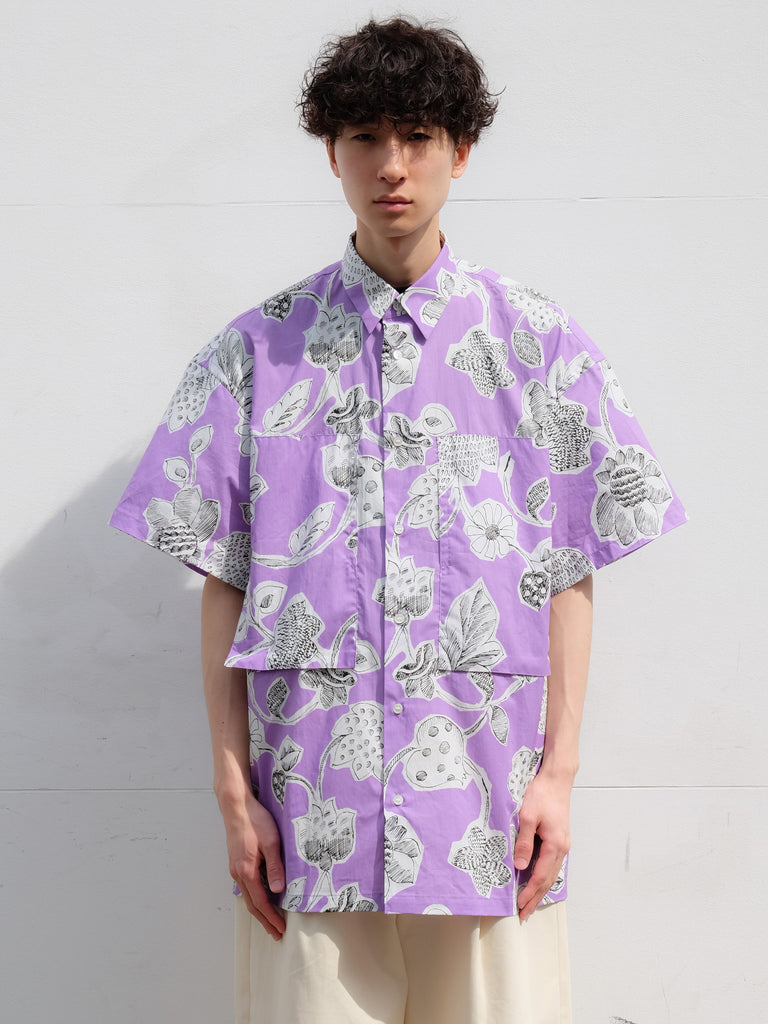 E.TAUTZ SHORT SLEEVE LINEMAN SHIRT LILAC 7