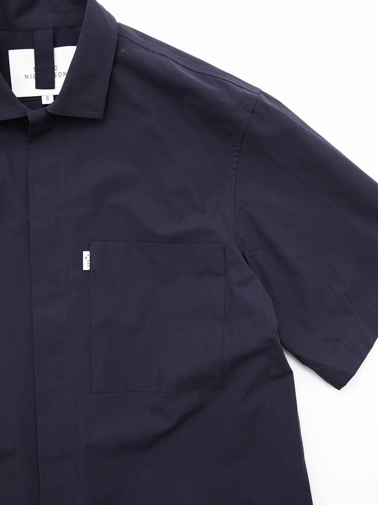 POWDER COTTON SHORT SLEEVE SHIRT DNV 5