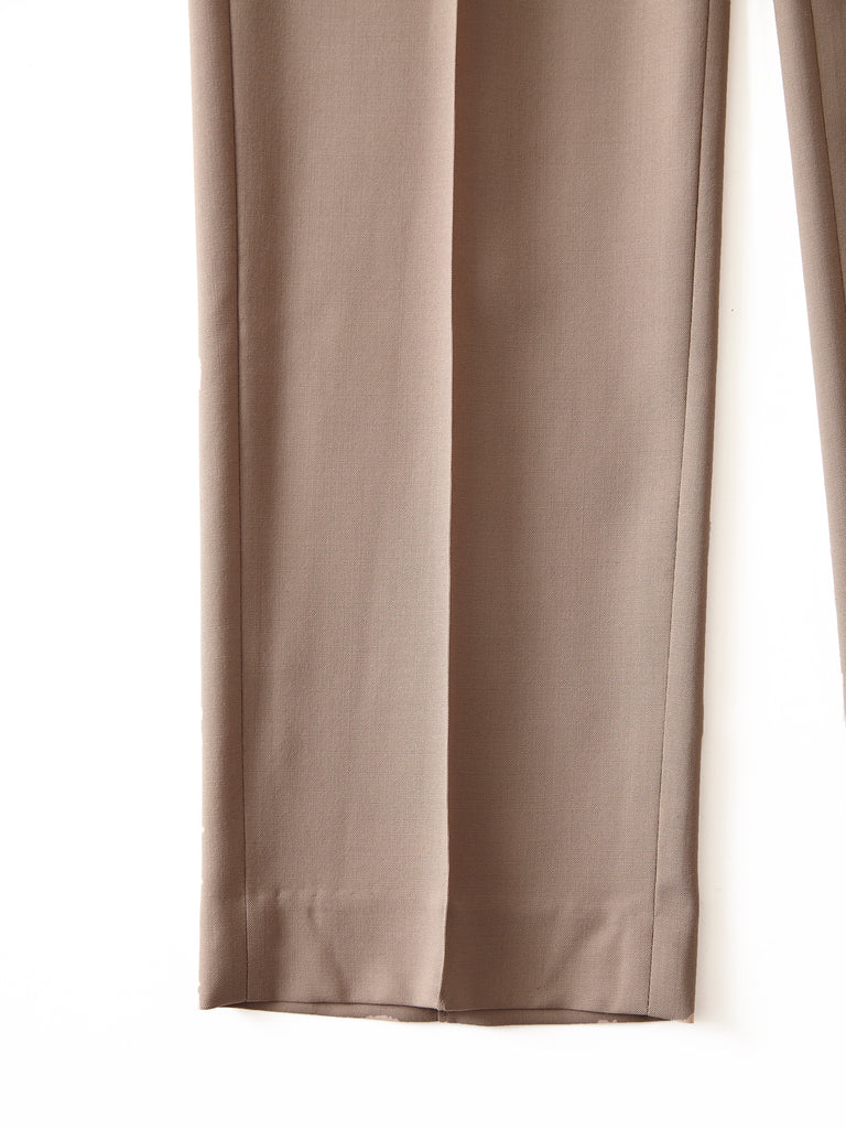 POSTELEGANT WOOL EASY TROUSERS CRB 4