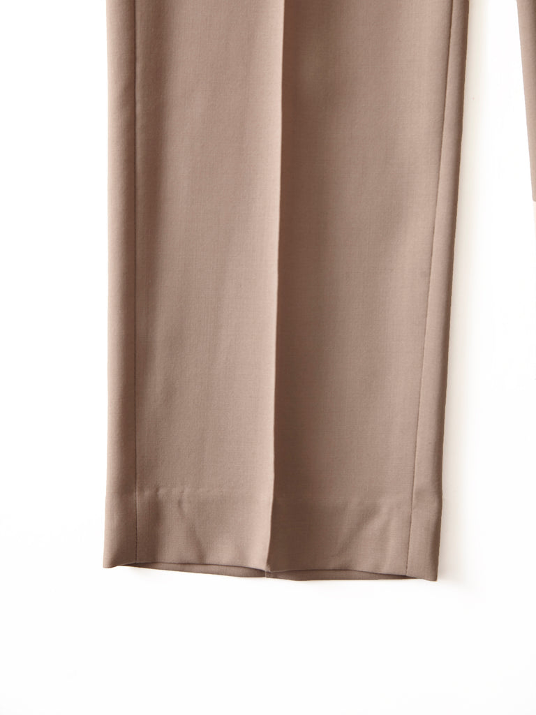 POSTELEGANT WOOL EASY TROUSERS CRB 7