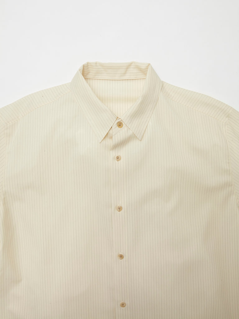 IRENISA ITALIAN COLLAR SHORT-SLEEVED SHIRT 7