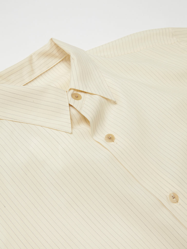 IRENISA ITALIAN COLLAR SHORT-SLEEVED SHIRT 13