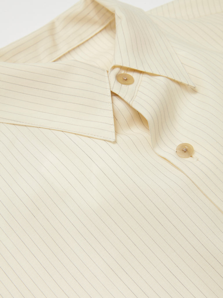 IRENISA ITALIAN COLLAR SHORT-SLEEVED SHIRT 14