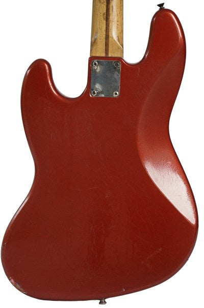 Fender Mexico Standard jazz Bass, Red Cherry