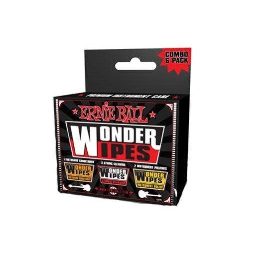 Ernie Ball Wonder Wipes Multi Pack Combo