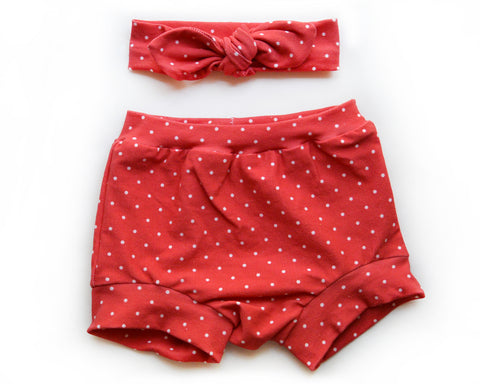 Red Dots Shorties