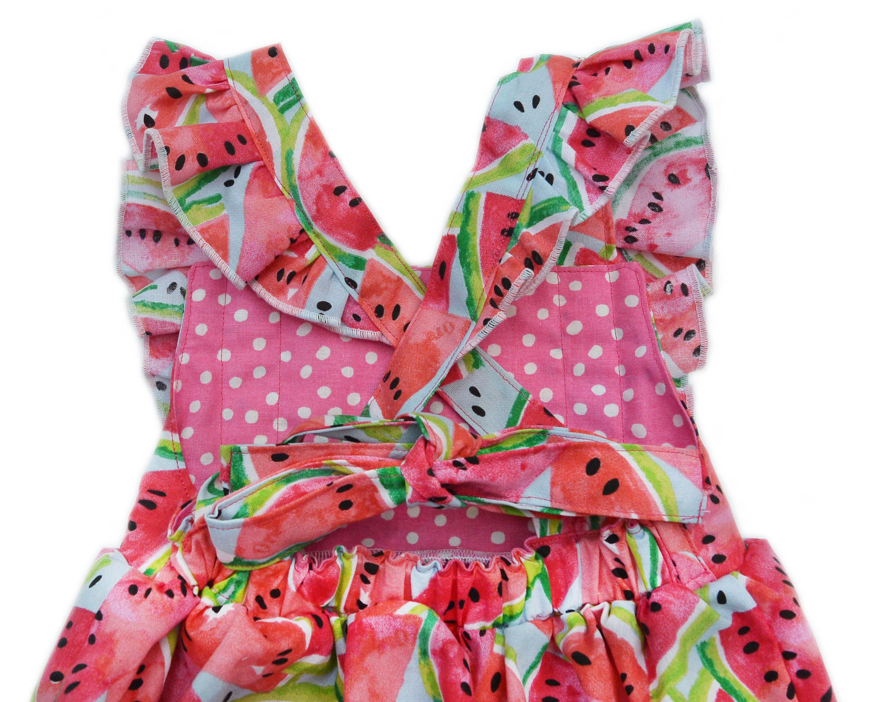 One in a Melon Ruffle Romper