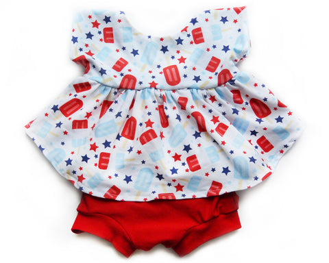 Patriotic Popsicle Outfit