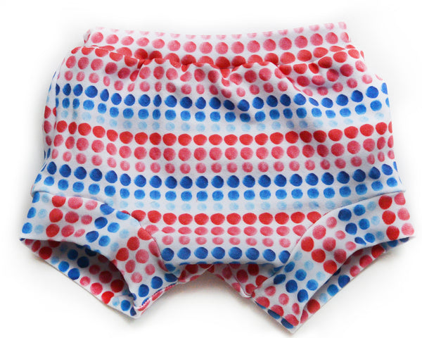 Patriotic Dots Shorties