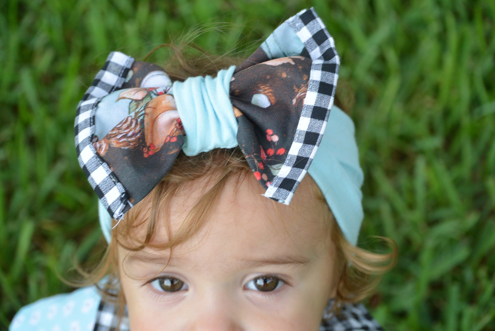 Pumpkin Patch Bow
