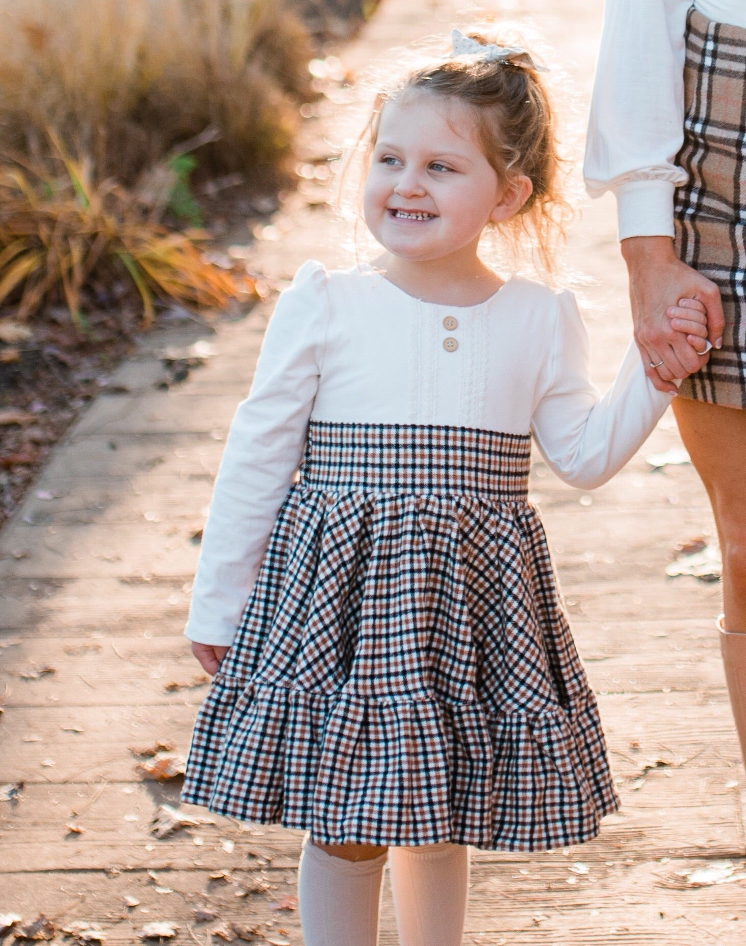 Plaid Twirly Dress