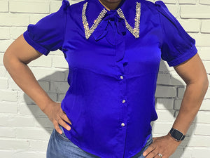 Finer Bling Blouse
