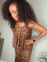 Load image into Gallery viewer, Leopard Fringe Top