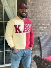 Load image into Gallery viewer, ΚΑΨ Color Block Sweatshirt
