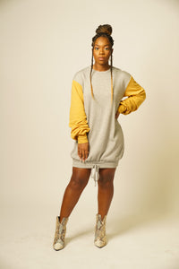 MUSTard HAVE Weekend Sweatshirt Dress